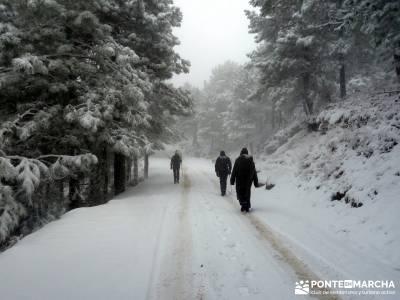 Valle de Iruelas - Pozo de nieve - Cerro de la Encinilla;rutas a caballo madrid rutas caballo madrid